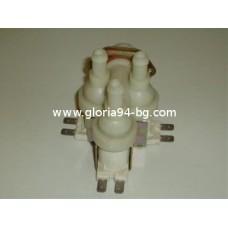 Електромагнитен клапан /вентил/, троен ъглов