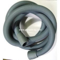 Маркуч за пералня мръсна вода Ф30 мм, 1.5 м