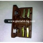Ключ 1+0 /две позиции/ 16А, 230V