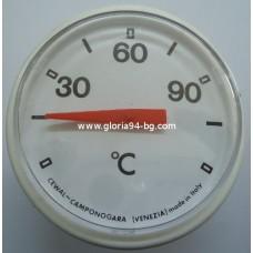 Термометър  за бойлер - кръгъл