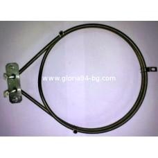 Нагревател за фурна с вентилатор - 2200W - Горене