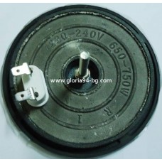 Нагревателна плоча Ф115 мм, 650 - 750W