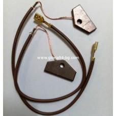 Графитни четки комплект за сушилня Miele T495C с кабели