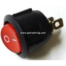 Ключ еднополюсен, светещ  10А, 230V