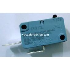 Микроключ Е43CL, 22А , 250V